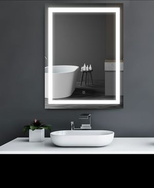 "32"" LED Outline Illuminated Bathroom Wall Mirror with Defogger for Sale in Los Angeles, CA"