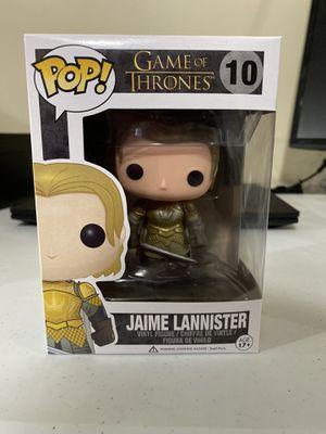 Game of Thrones Jaime Lannister funko pop 10 for Sale in Lincoln, NE