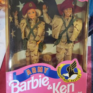 Stars N Stripes Army Barbie and Ken 1992 for Sale in Surprise, AZ