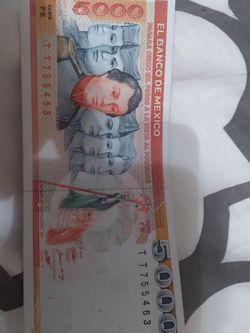 5.000 Pesos De México Unc $45 for Sale in Frisco,  TX