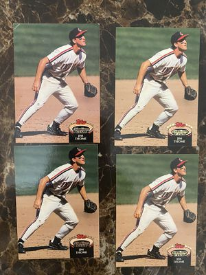 4 Jim Thome Baseball Cards for Sale in Fort Bliss, TX