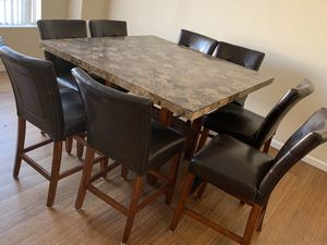 Granite Table Top Dining Table for Sale in San Francisco, CA