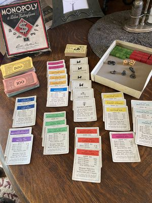 Monopoly game 1935 no board for Sale in Portland, OR