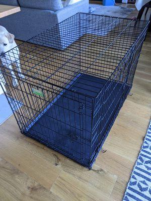 """Extra large double door dog crate 48"""" for Sale in Berkeley, CA"""
