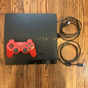 Sony PlayStation 3 Slim 160 GB for Sale in Seattle, WA