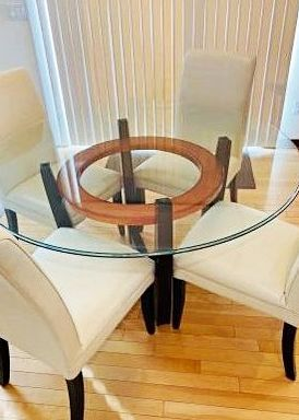 """Beveled Glass Table Top, 54"""" for Sale in Dexter, GA"""