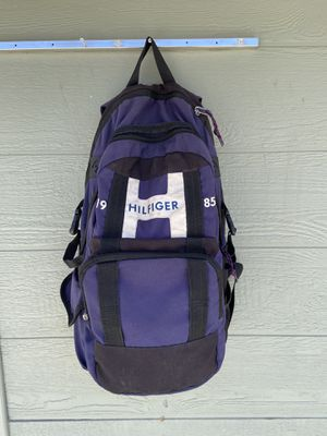 Tommy Hilfiger 1985 raider backpack for Sale in Fontana, CA