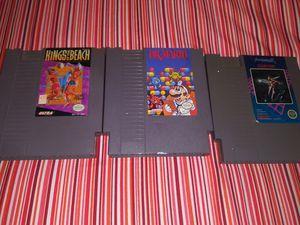 3 Nintendo's games 1985 for Sale in Los Angeles, CA