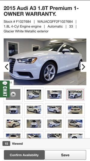 2015 Audi A3 for Sale in Houston, TX