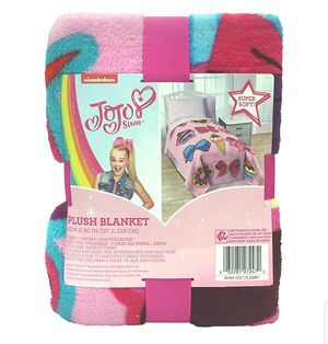Jojp Siwa Twin Size Plush Blanket for Sale in Brooklyn, NY
