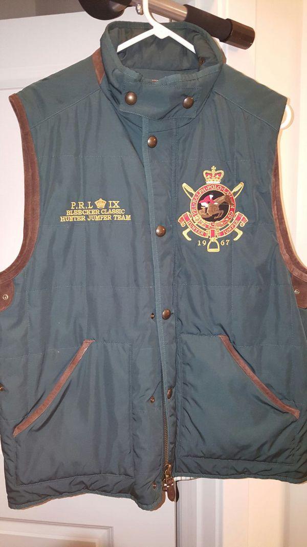 Like new POLO vest size large