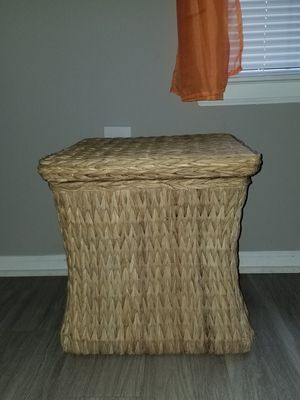Wicker Storage Basket for Sale in Bowie, MD