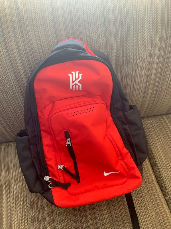 Nike Kyrie red backpack