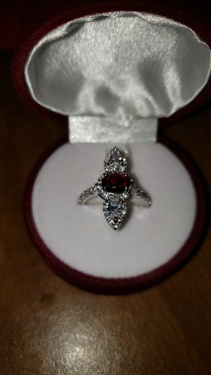 Ring sterling silver stamp 925 size 11 for Sale in Wichita, KS