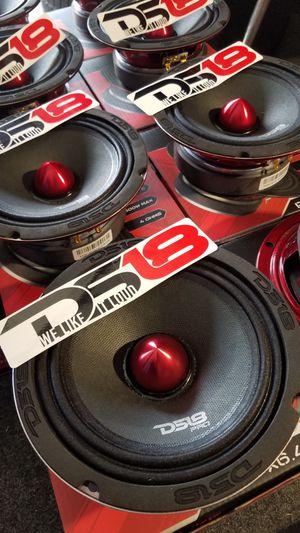 Ds18 Pro Audio Loud and clear midrange Speaker for voice Pro X series 600w $29 each(1)/Ds 18 audio Bosinas fuerte clara pa la voz $29 Cada una (1) for Sale in Houston, TX