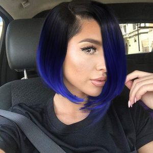 Ombre Blue Beauty Full Wig for Sale in Compton, CA