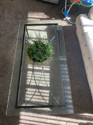 Glass coffee table for Sale in Virginia Beach, VA