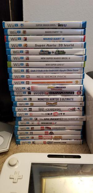 Nintendo Wii U Collection for Sale in Alexandria, VA