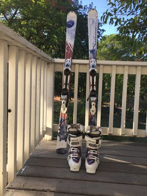 Salomon skis and boots for Sale in Valley Springs, CA