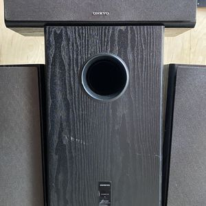 Onkyo Speakers and Sub for Sale in Encinitas, CA