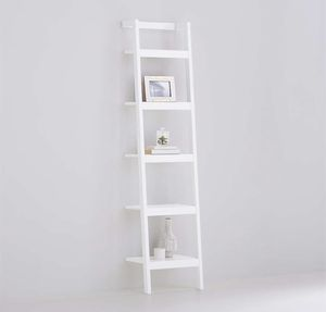 White Wood leaning shelf - Crate & Barrel for Sale in Brooklyn, NY