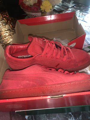 Puma suedes red && blue for Sale in Columbus, OH