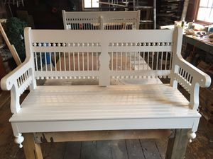 Custom made Victorian style porch swing for Sale in Nashville, TN