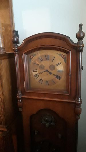 Antique BULOVA Grandfather's clock. for Sale in New York, NY
