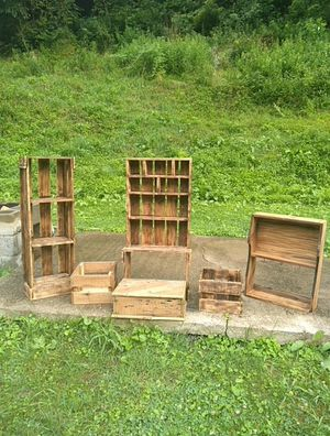 rustic handmade 25.00 each deliver or pick up only for Sale in Fairmont, WV