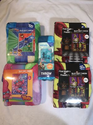 New Kids Throws for Sale in Raleigh, NC