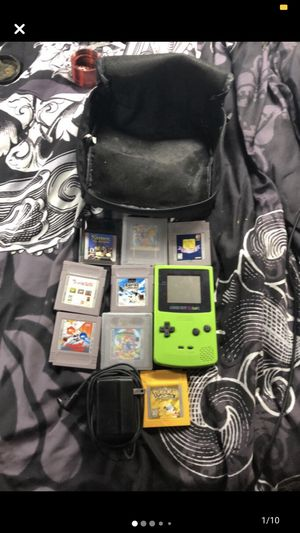 Gameboy color collection for Sale in Freeport, MI
