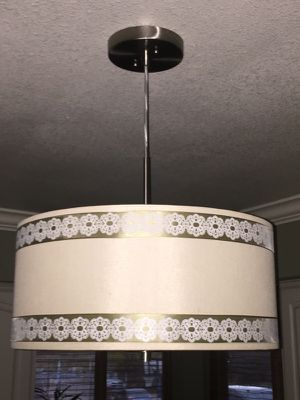 Modern light fixture for Sale in San Antonio, TX