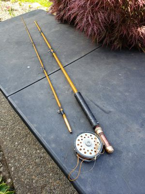 Project vintage fly fishing rod with reel for Sale in Federal Way, WA