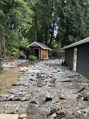 Free Broken Concrete for Sale in Renton, WA