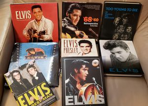 Elvis Hardcover Book Collection for Sale in New Port Richey, FL
