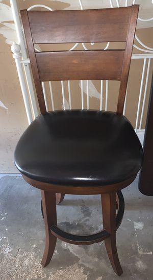 Bar stool, high chair only have 1 for Sale in Bolingbrook, IL