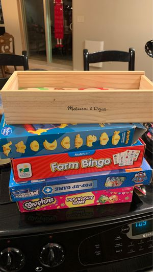 4 kids games and puzzle for Sale in Snohomish, WA