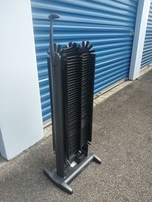 Electric media organizer stand for Sale in Lancaster, NY