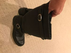 Born black leather boots women's size 9 for Sale in Chattanooga, TN