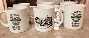 John Deere Mugs (set of 6) for Sale in Vermilion, OH