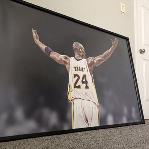 Framed Kobe Bryant Picture for Sale in Middletown, CT
