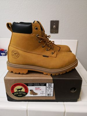 Red wings irish setter work boots size 11 for Sale in Riverside, CA