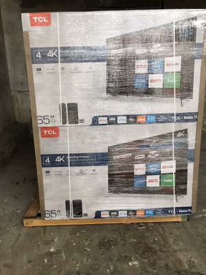 """TCL 65"""" Roku 4k Smart TV ... $450 ... Pick Up In Brooklyn !! for Sale in Brooklyn, NY"""