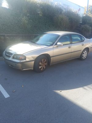2004 chevy impala 80,000 miles and runs good. $1500 for Sale in Nashville, TN