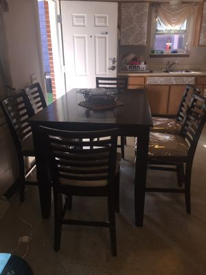 Dining table with 6 chairs for Sale in Erie, PA