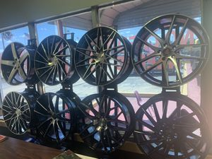 New wheels and tires mounted and balance and alignment free, finance available zero down no credit need pay off before 💯 days zero interest 🔥 for Sale in Kissimmee, FL