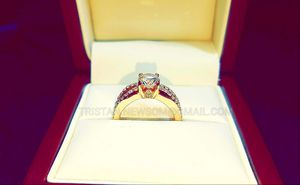 Rose Gold Diamond Engagement Ring 14K GIA Certified for Sale in Chicago, IL