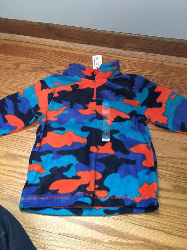New fleece top age 4