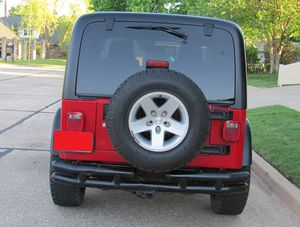 Red 2004 WRANGLER JEEP 4X4 AWDWheels Good for Sale in Boston, MA