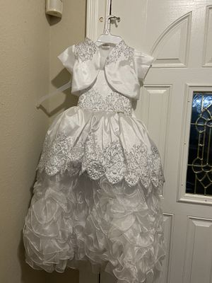Vestido para niña talla 6 usado solo una vez $30 for Sale in Spring, TX